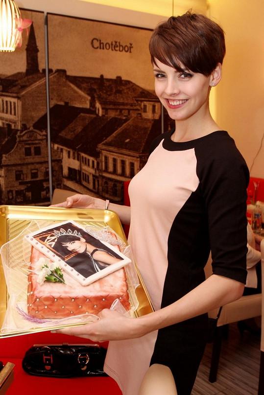 Česká Miss Gabriela Kratochvílová