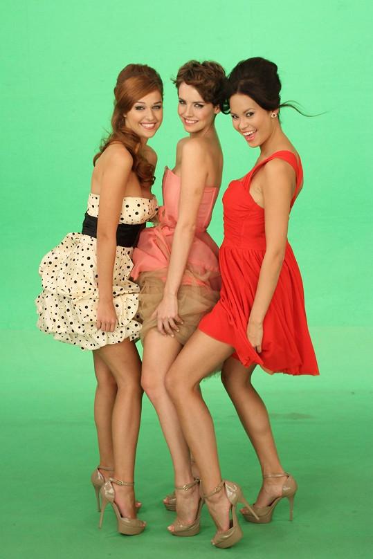 Tyto dívky uspěly na České Miss 2013.
