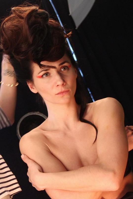 Sandra Nováková fotila nové snímky.