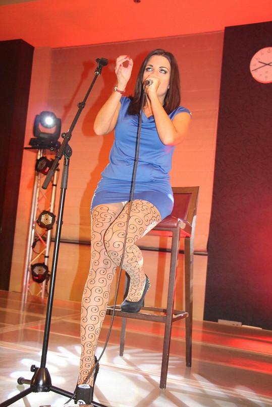 Diváci měli možnost vidět, jaké nosí kalhotky.