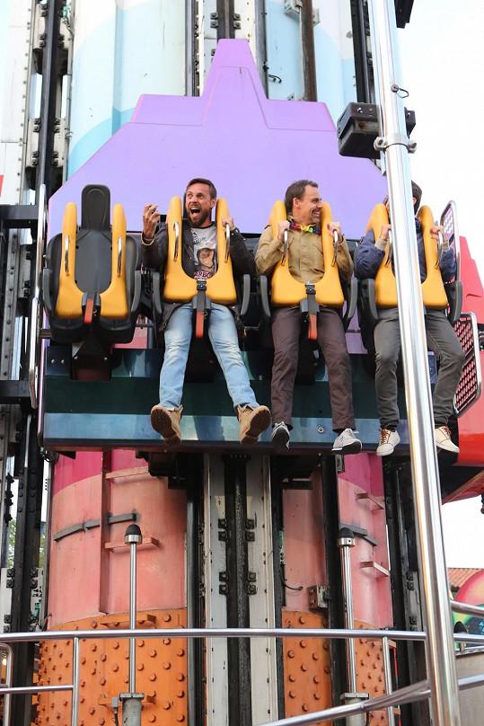 Vyvrcholením byla atrakce ve stockholmském zábavním parku.