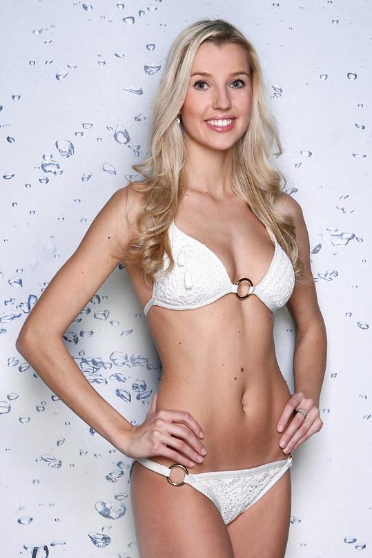 Finalistka České Miss 2013 Andrea Kolářová