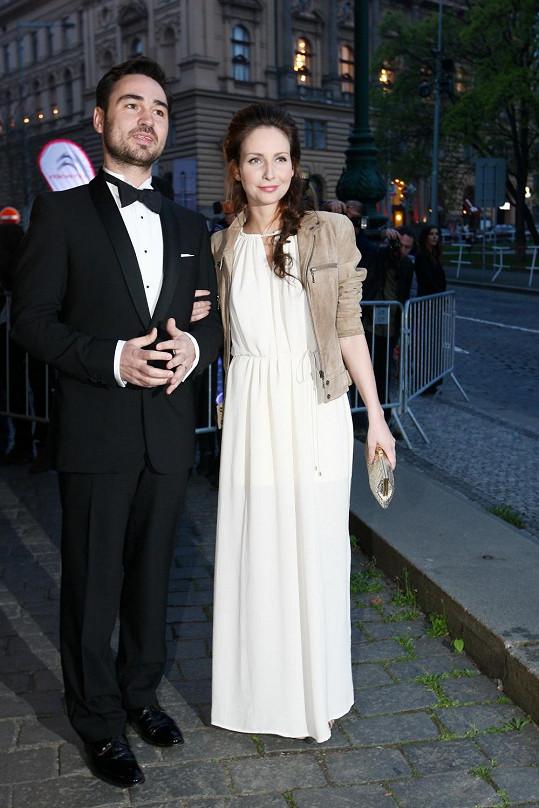 Veronika s manželem Biserem
