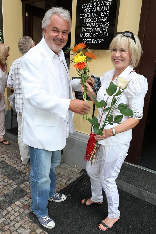 Jana s manželem Pavlem Satorie.