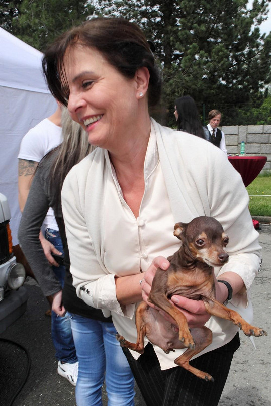 Jana Krausová je taková psí máma.
