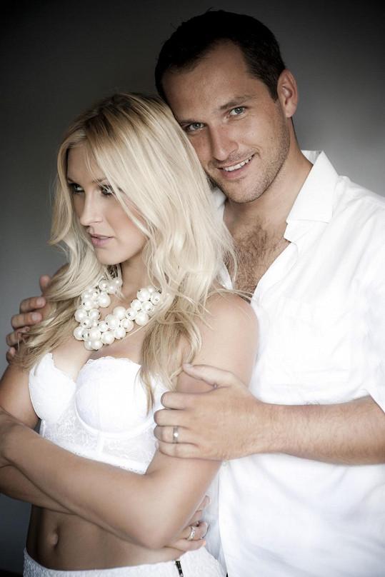 Zorka se svým manželem před operací