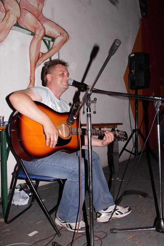 Na akci Michal vystřihl několik songů.