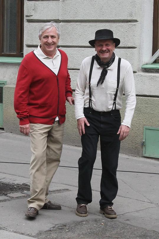 Heřmánek a Krobot se dobře bavili.