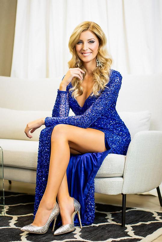 Michaela Hávová je finalistkou České Miss 2016.