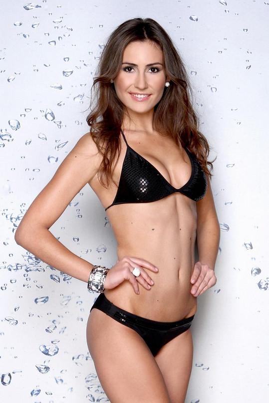 Finalistka České Miss 2013 Zuzana Juračková
