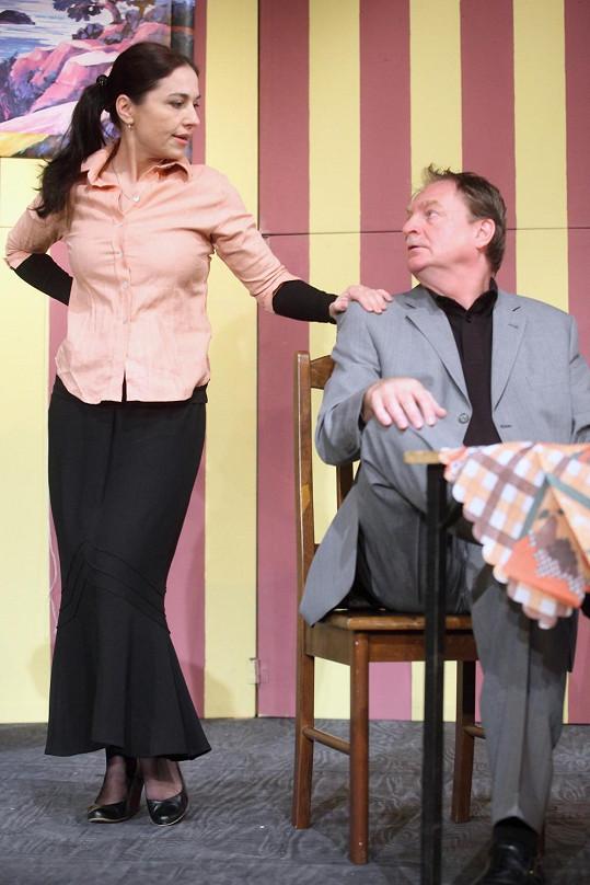 V divadelní hře si zahraje i Míša Kuklová.