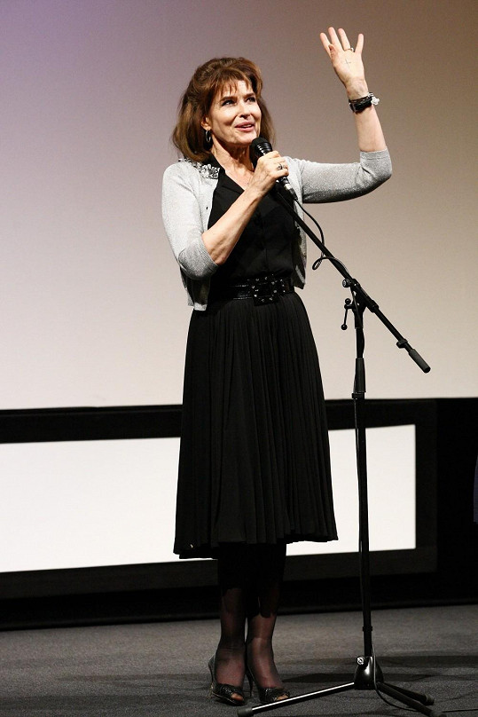 Fanny Ardantová byla múzou legendárního režiséra Françoise Truffauta.