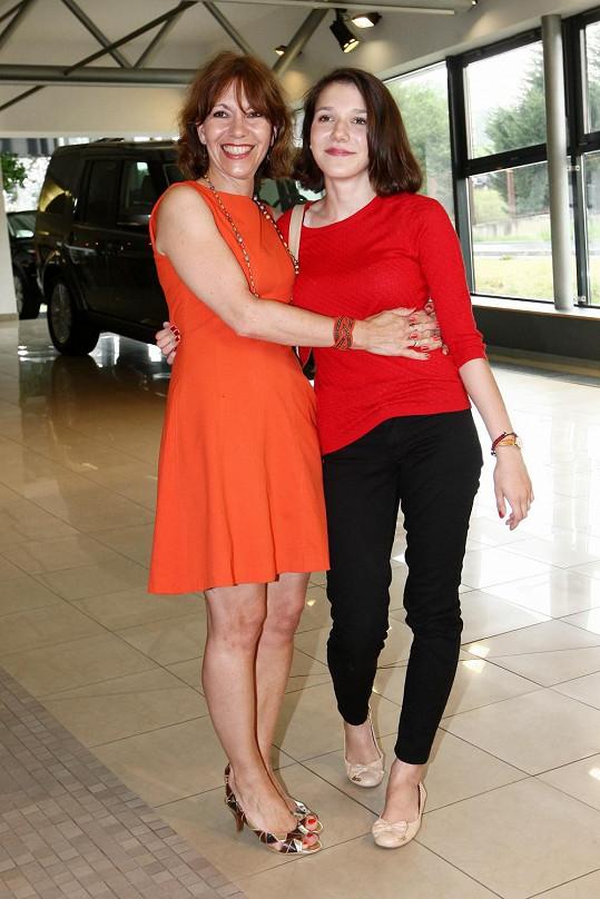 Míša Dolinová s dcerou Julií