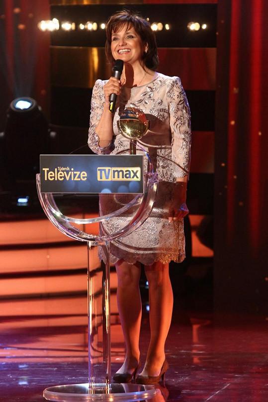 Veronika Freimanová se z ceny TýTý moc dlouho neradovala.