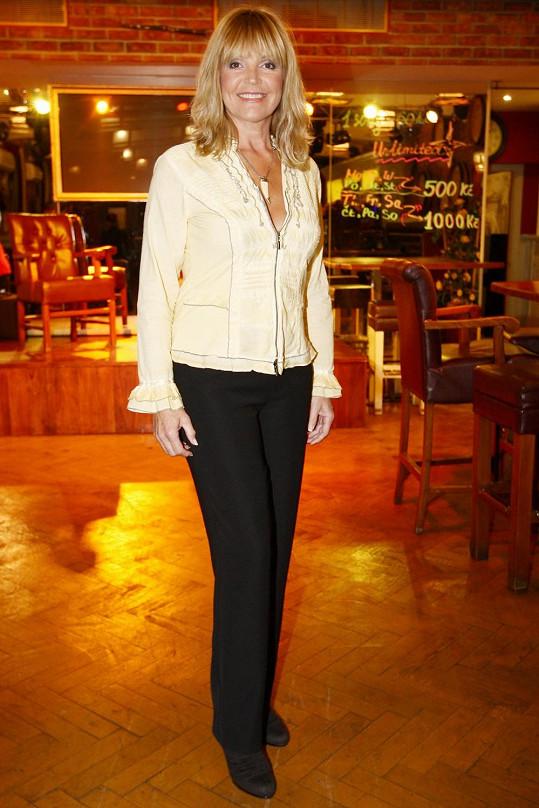 Věra Martinová oslaví 25 let kariéry koncertem v Lucerně.