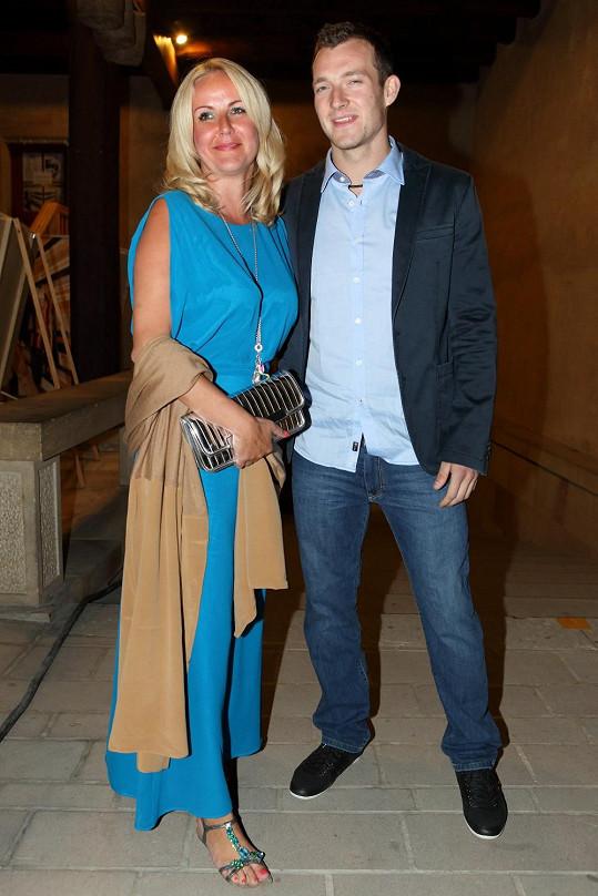 Vendula Svobodová s přítelem Josefem Pizingerem