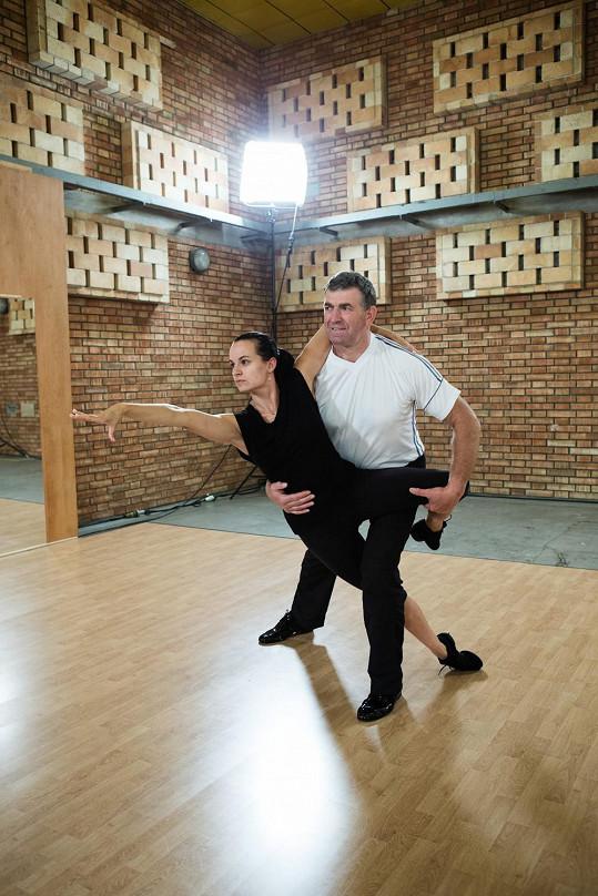 Imrich Bugár a Jitka Šorfová polykají náročné tréninkové dávky.