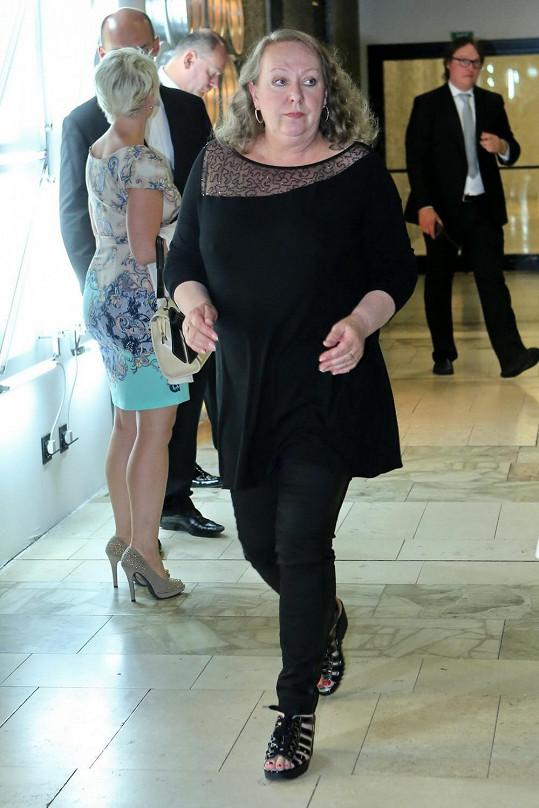 Gábina Osvaldová si s módou nikdy moc netykala.
