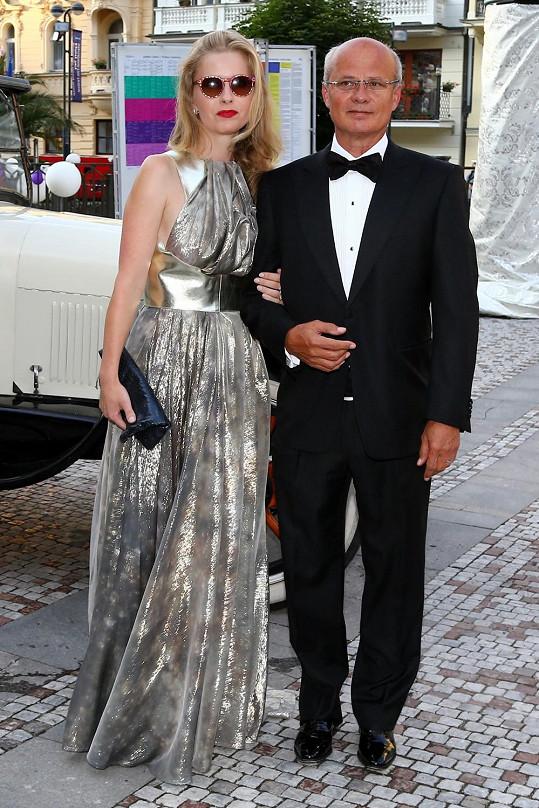 Michal Horáček s manželkou