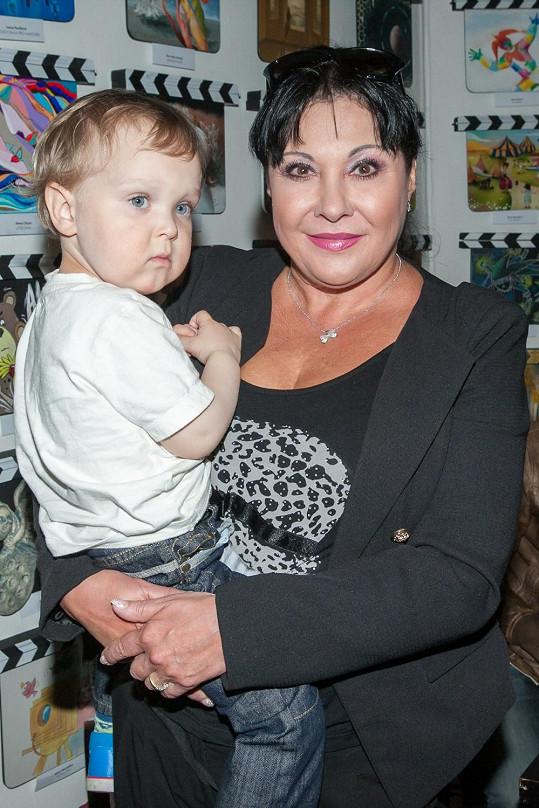 Dáda s vnoučkem Felixem Antonínem