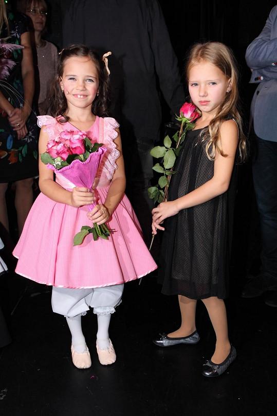 Nejmladší dcerky Karla Gotta Charlotte a Nela