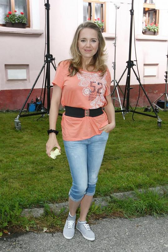 Vondráčková plánuje prázdniny v Česku.