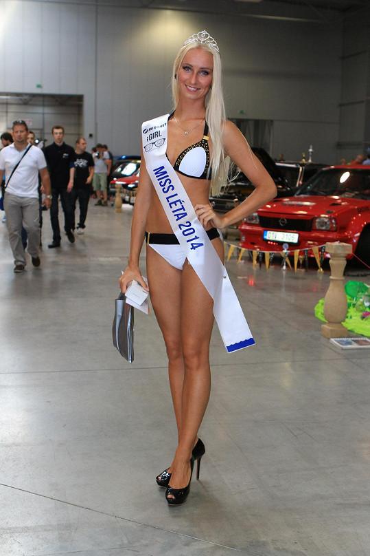 Miss Léta 2014 Aneta Falcová