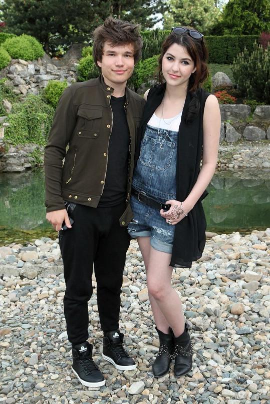 Celeste s Martinem spolu chodí už čtvrtý rok.