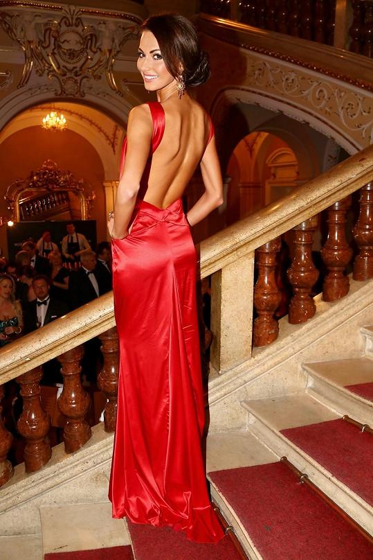 Eliška Bučková má modely od maďarského butiku, s nímž spolupracuje.