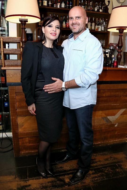 Andrea Kalivodová s partnerem Radkem se těší na miminko.