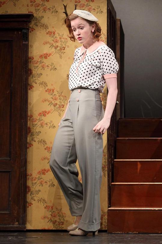 Marie Doležalová v retro kostýmu
