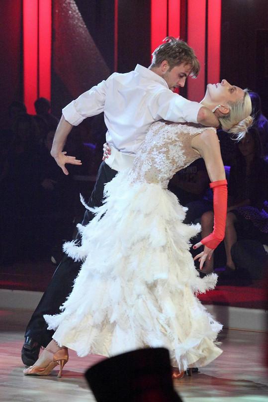 Anna Polívková a Michal Kurtiš patří k favoritům StarDance.