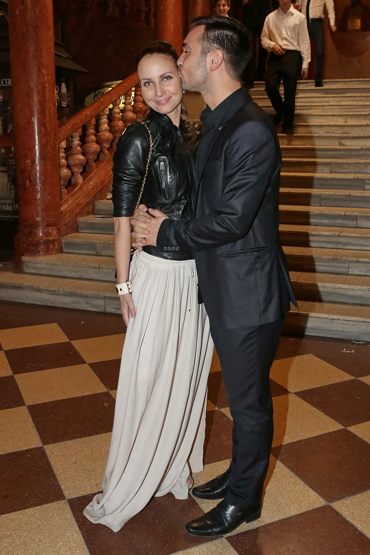 Veronika Nová s přítelem Biserem jsou velmi zamilovaní.