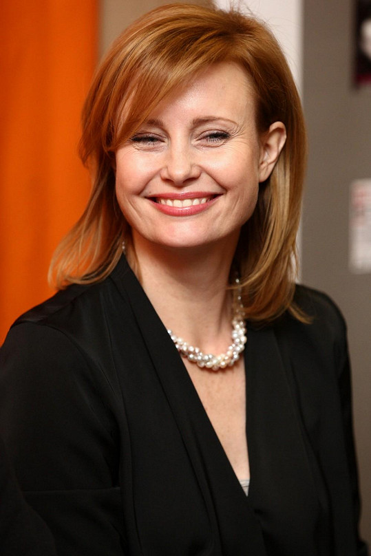 Populární herečka pokřtila knihu Zdeňka Merty.