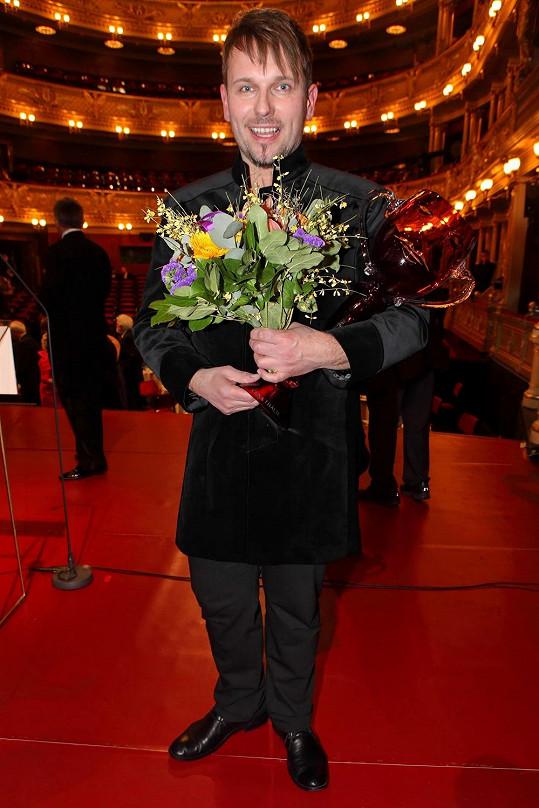 Jiří Přibyl, basista z Olomouce, byl největší fešák mezi oceněnými.