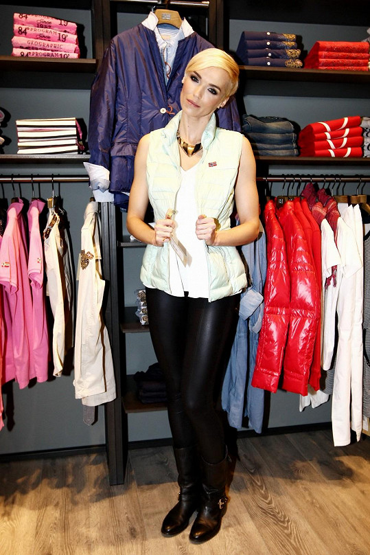 Hana Mašlíková spíš než oblečení upřednostňuje osobní dárky.