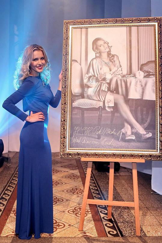 Linda se svojí fotkou