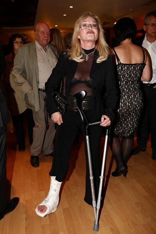 Jana Blochová si oblékla vyzývavý model.