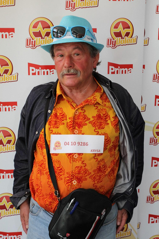 Nejstarší účastník všech castingů je z Ostravska a má zálibu v pestrém oblečení.