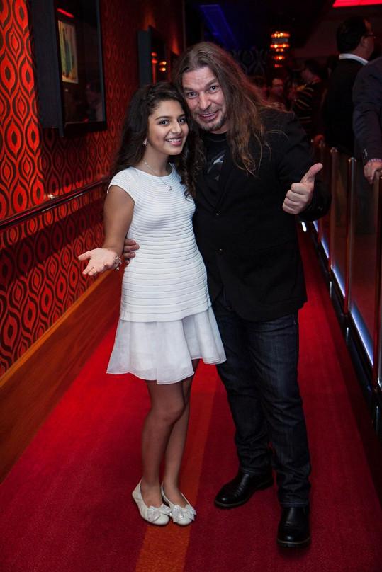 Diana Kalashová s Petrem Kolářem