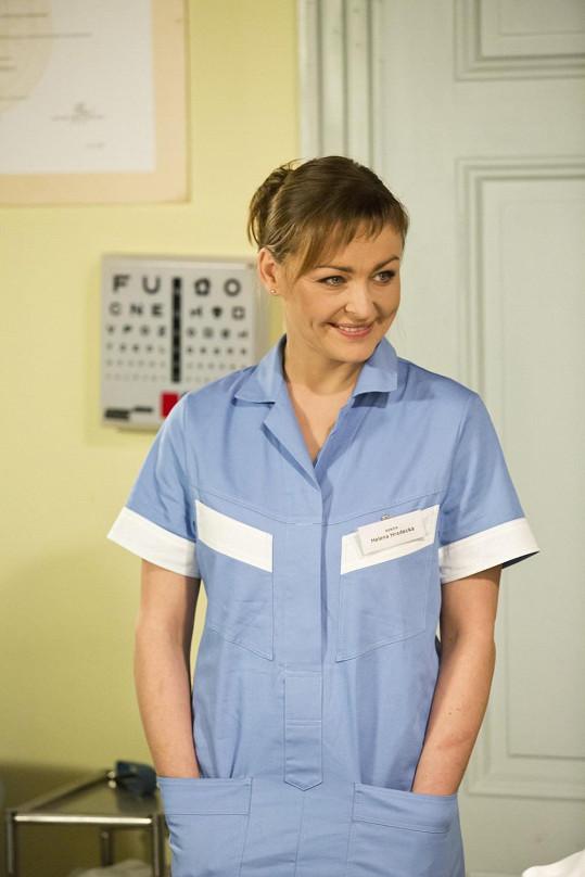 Andrea ve své nové televizní roli.