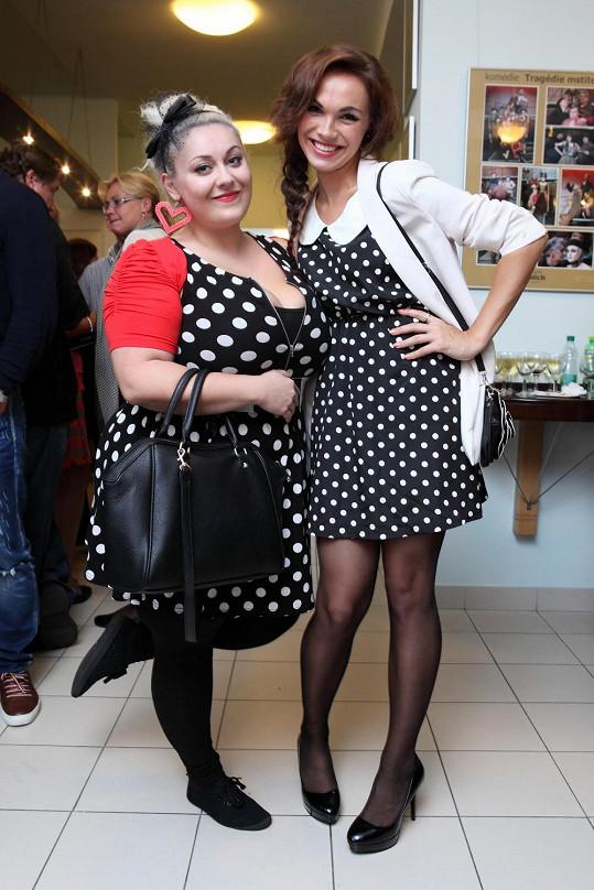 Dannie s kamarádkou Kamilou Nývltovou
