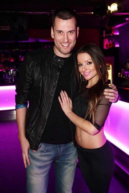 Veronika s přítelem Tomášem
