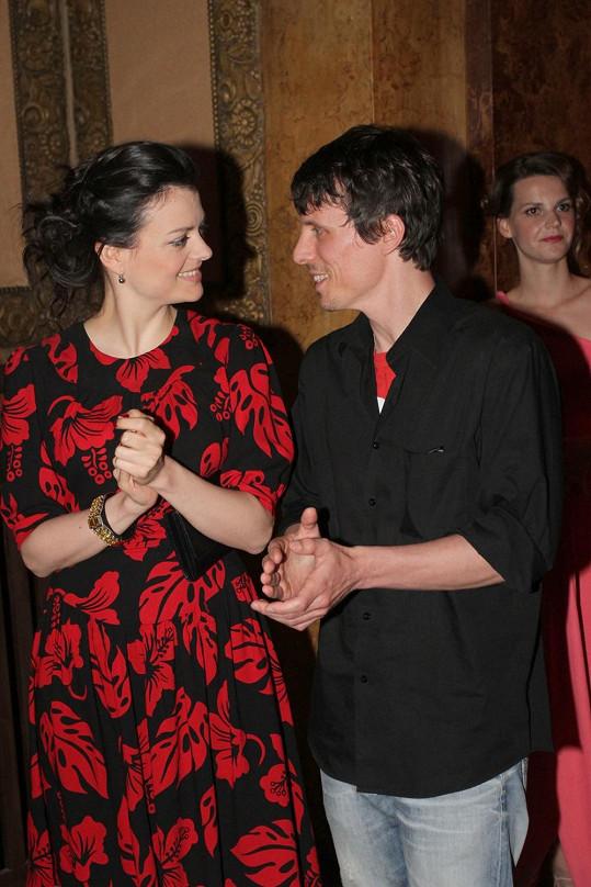 Jana Stryková s partnerem