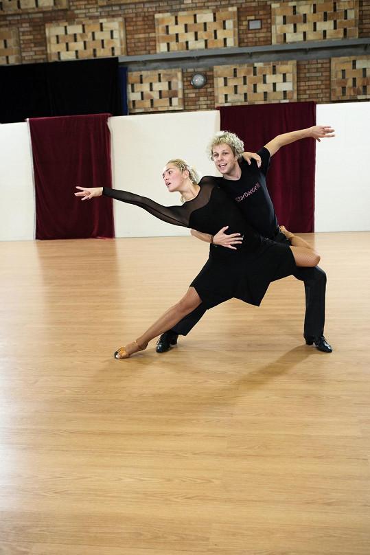 Táňa a Honza trénují většinou obden dvě hodiny.