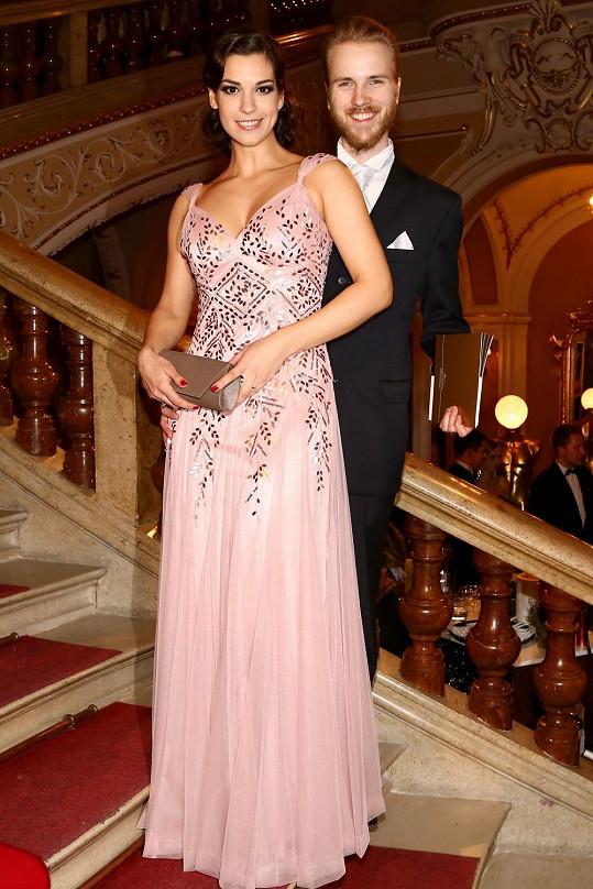 Marta Ondráčková s manželem Jakubem Dřímalem
