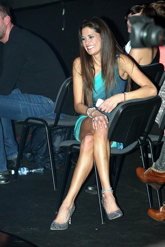 Petra Faltýnová se na Talentu bavila.