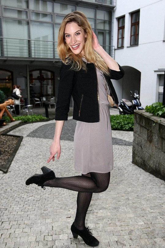 Marie Kružíková má krásné vlasy...