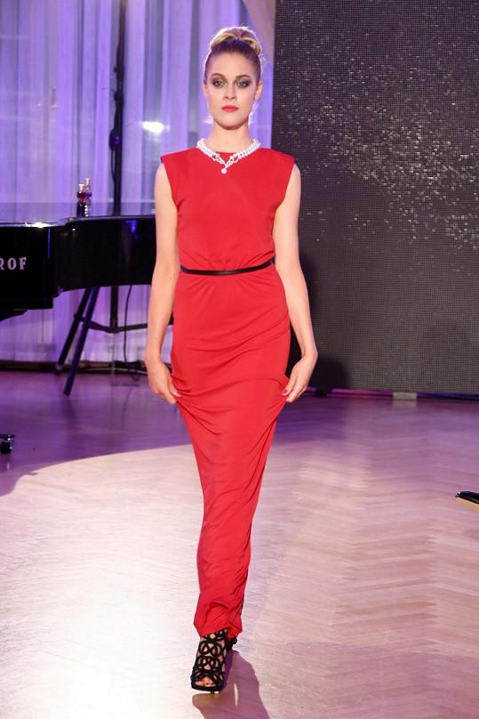Kateřina Klausová už modeling dělá jen výjimečně.