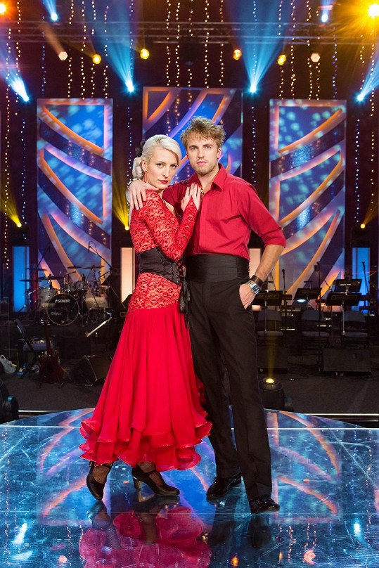 S tanečníkem Michalem Kurtišem